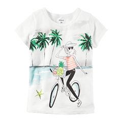 Carter's Short Sleeve T-Shirt-Toddler Girls