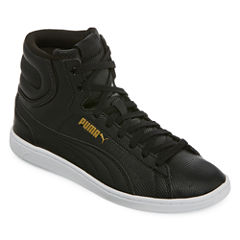 Puma Mid Deboss Womens Sneakers