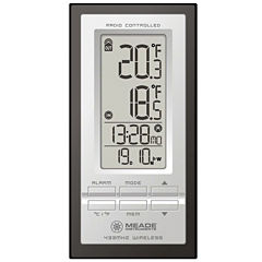 Meade Instruments TE278W Personal Weather Station with Inside/Outside Thermometer and Atomic Clock