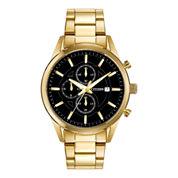 Citizen® Exclusive Mens Gold-Tone Chronograph Watch