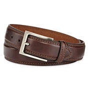 Stafford® Leather Belt–Big & Tall