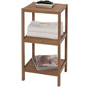 Creative Bath™ Eco Styles Bamboo 3-Shelf Tower