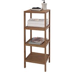 Creative Bath™ Eco Styles Bamboo 4-Shelf Tower