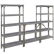 Uptown Style 3-pc. Storage Shelf Set