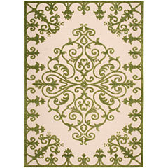 Nourison® Scroll Indoor/Outdoor Rectangular Rug
