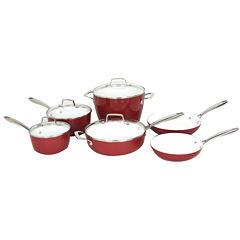 Oneida® 10-pc. Forged Aluminum Cookware Set