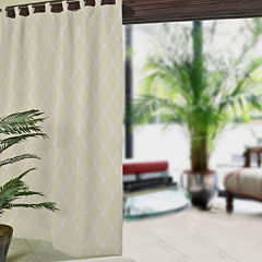 Corado Ogee Tab-Top Indoor/Outdoor Curtain Panel