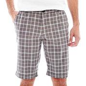 JF J. Ferrar® Plaid Shorts