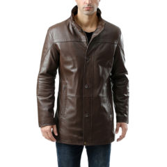 Leather Car Coats Coats & Jackets for Men - JCPenney