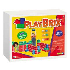 Educational Insights PlayBrix - 54 Building BlocksSet