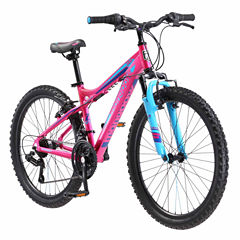 Mongoose Girls Front Suspension Mountain Bike