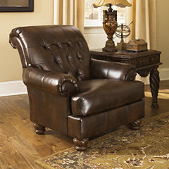 Signature Design By Ashley® Fresco Faux Leather Chair