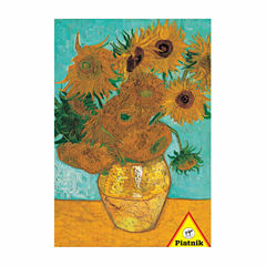 Piatnik Van Gogh - Vase with Twelve Sunflowers: 1000 Pcs