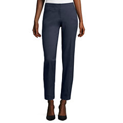 Heart & Soul® Indigo Double-Waistband Pants - Short