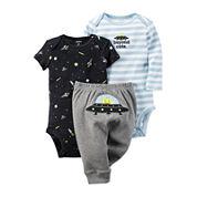 Carter's® 3-pc. Alien Layette Set - Baby Boys newborn-24m