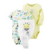 Carter's® 3-pc. Giraffe Layette Set - Babies newborn-24m