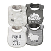 Carter's® 4-pk. Lamb Bibs - Babies newborn-24m