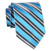 Stafford® Bliss Striped Silk Tie
