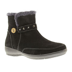 Spring Step Reeve Short Suede Cold-Weather Boots