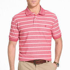 IZOD Short-Sleeve Newport Oxford Rugby Stripe Polo