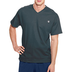 Champion® Short-Sleeve Jersey V-Neck Tee