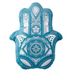 Home Expressions Hamsa Hand Decorative Pillow