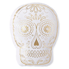 Home Expressions Sugar Skull Decorative Pillow