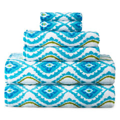 JCPenney Home Valencia 6-pc. Towel Set