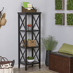 Riverridge Home 4-Shelf Bathroom Shelf