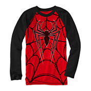 Marvel® Long-Sleeve Spiderweb Novelty Raglan Shirt - Boys 8-20