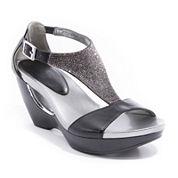 Andrew Geller Arana Wedge Sandals