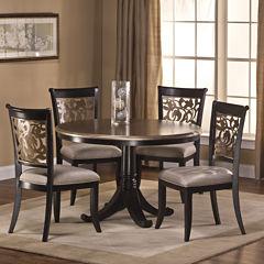 Lorena 5-pc. Round Dining Set