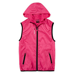 Reebok® Pop Windbreaker Vest - Girls 7-16