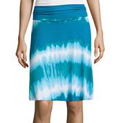 a.n.a® Folded Waistband Knit Skirt
