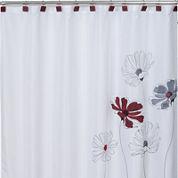 Saturday Knight Scarlet Shower Curtain