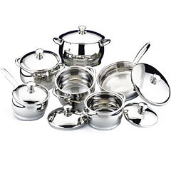BergHOFF® Cosmo 12-pc. Stainless Steel Cookware Set