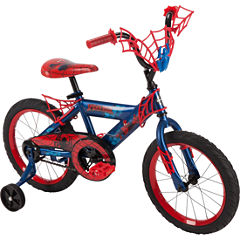 Huffy Marvel Spider-Man 16In Bike with WebTrap Handlebar Plaque