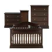 Savanna Tori 3-pc. Baby Furniture Set - Espresso