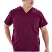 Bio Stretch Mens Scrub Top - Big & Tall