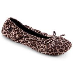 Isotoner® Satin Ballerina Slippers