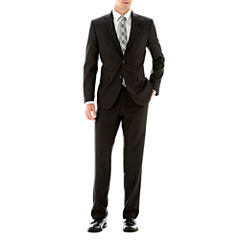 JF J. Ferrar® Boxweave Slim-Fit Suit Separates