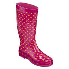 Towne By London Fog Womens Jasper Rain Boots