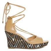 a.n.a Marni Womens Wedge Sandals