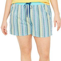 Sleep Chic Pajama Shorts - Plus