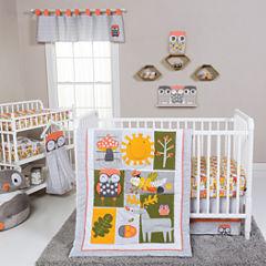 Trend Lab Olive Owl 5-pc. Crib Bedding Set