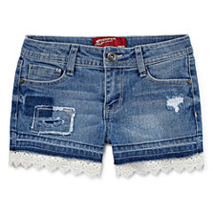 Arizona At Waist Shortie Shorts - Big Kid Girls
