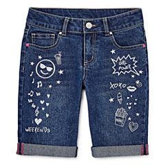 Total Girl Bermuda Shorts - Big Kid Girls Plus