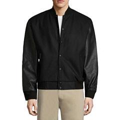 Vintage Leather Varsity Jacket Varsity Jacket
