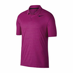 Nike Essential Short Sleeve Pattern Polo Shirt