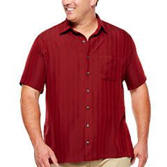 Van Heusen Button-Front Shirt-Big and Tall